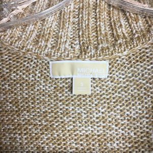 Michael Kors Sweaters - Michael Kors Beige Large Collar Sweater